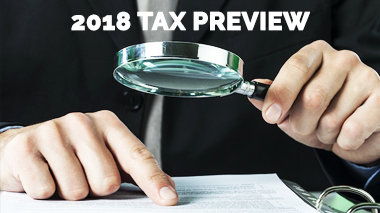 pastoral tax, 2018 tax preview, ministry resource center